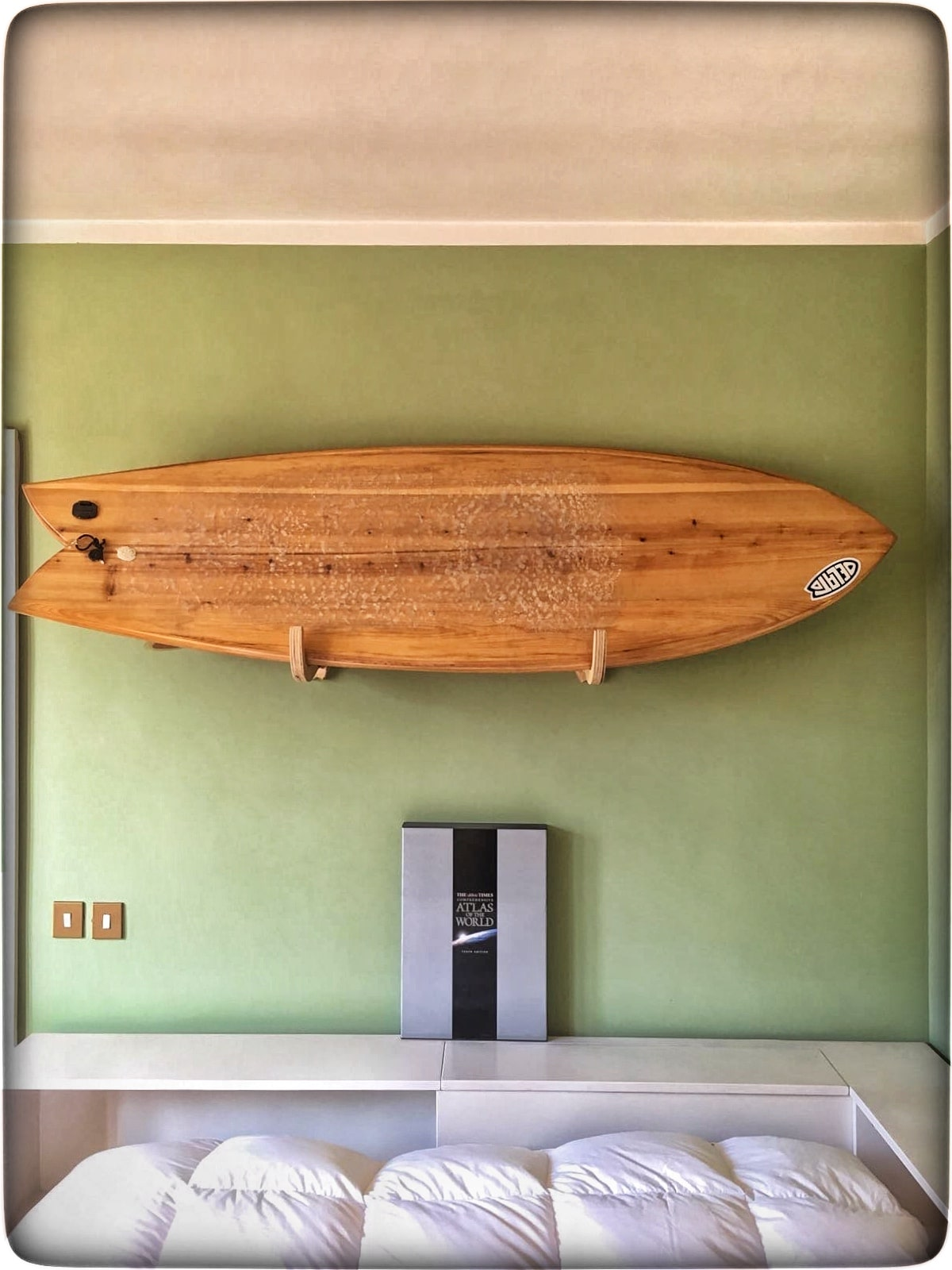 image design ideas surfboard original home nice decor wall style rack of